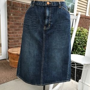 Gap Limited Edition 100% cotton Jean skirt 12T